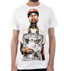 THANK YOU GOD ALWAYS TYGA Hip Hop / Mens, White, T-Shirt
