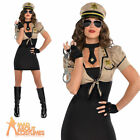 Adult Shakedown Sheriff Costume Sexy USA Cop Fancy Dress Police Woman Outfit New