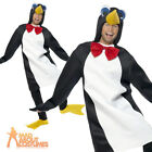 Adult Penguin Costume Mens Womens Book Day Christmas Fancy Dress Outfit New