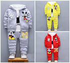 Kyпить 3pcs Baby toddler clothes boys coat+T shirt +pants tracksuit outfits set cartoon на еВаy.соm