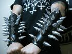 LEATHER GIANT SPIKED GAUNTLET. THRASH METAL (MDLG0221)..... BULLDOZER
