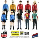 "Big Bang Theory Star Trek  3 3/4"" Series 2 Figures LIMITED individually Numbered"