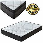 Signature Comfort Sleep 9-Inch Queen Mattress Pillow Top King Mattress Full Twin
