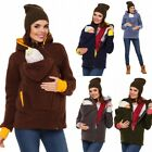 Внешний вид - Women Maternity Baby Carrier Hoodie Kangaroo Jacket Outwear Pregnancy Coat Warm