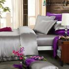22MM Extra Thick Silk Bedding 4pcs Silk Sheets Set image