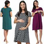Zeta Ville -Women's Maternity Nursing 3in1 Gown Labor Delivery Childbirth - 434c
