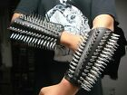 LEATHER SPIKED GAUNTLET.BLACK DEATH...(MDLG0230).....VITAL REMAINS
