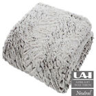 UAREHOME Wolf Soft Touch Luxury Throw & Cushion Cover Faux Fur Mink
