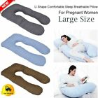 U/C/E Shape Total Body Pillow Pregnancy Maternity Comfort Contoured Support TO