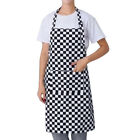 Women Men Waterproof Kitchen Bib Dress Apron Chef BBQ Cooking Baking Restaurant