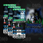 Minnesota Timberwolves Ticket Style Custom Sports Party Invitations on eBay