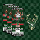 Milwaukee Bucks Ticket Style Custom Sports Party Invitations on eBay