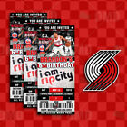 Portland Trail Blazers Ticket Style Custom Sports Party Invitations on eBay