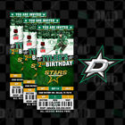 Dallas Stars Ticket Style Sports Party Invites $45.0 USD on eBay