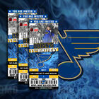 St. Louis Blues Ticket Style Sports Party Invites $35.0 USD on eBay