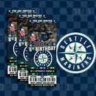 Seattle Mariners Ticket Style Sports Party Invites on Ebay