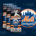 New York Mets Ticket Style Sports Party Invites on Ebay