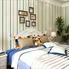 Europe Style Vertical Stripes Environmental 3D Non-woven Bedroom WallPaper 5.3㎡