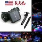 Solar Powered 30 / 200 LED String Fairy Lights Garden Outdoor Xmas Party Lamp