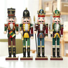 Handmade Wooden Nutcracker Soldiers Home Decoration Walnut Christmas Ornaments