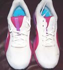 Shoes athletic women running exercise sports Puma white pink purple grey 5 6 7
