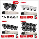ZOSI 8CH 1080N 720P DVR CCTV Camera Outdoor Home Security System Wired Video 1T