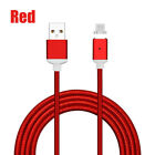 US 1M-3M 2.4A Magnetic Micro USB Fast Charging Charger Cable for Android Samsung