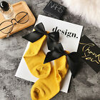 Fashion Women Glitter Bow Knot Mesh Fishnet Net Girl Low Cut Ankle Socks Hosiery