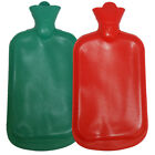 Hot water Bottle 2L Large Great for Winter Thick Rubber Screw Cap 2 Colours