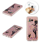For Samsung Galaxy Phone/S9/S8/Note8 Pattern Rubber Soft TPU Silicone Case Cover