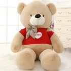 80cm Huge shirt tie giant Teddy bears Plush Dolls stuffed toy Birthday Gift 31