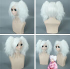 Women's Girls Hairpieces Cosplay Costume Cartoon Gintama Anime Game Wig Party