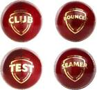 SG Cricket Leather Season Balls Pack of 6 Choose From 4 Sanspareils Greenlands