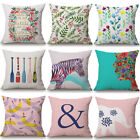 Внешний вид - Cotton Linen Square  Pillow Case Home Decorative Throw Sofa Waist Cushion Cover