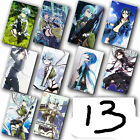 hot anime Sword Art Online 10 pc/set Card Paster IC Card Sticker A