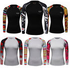 Women's Compression Tops Running Yoga Fitness Gym Dri fit Shirts Long Sleeve Tee