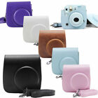 For Fujifilm Instax Mini 8 9 Film Instant Camera PU Leather Bags Shoulder Case