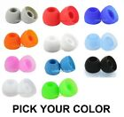 Replacement Earbud Tips For Skullcandy Earbuds Buds 11 COLORS Small Medium Large