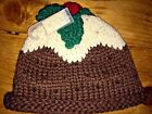 BNWT Next unisex baby christmas pudding hat 3-6 months 6-12 months