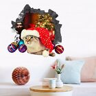 3D Christmas Cat 296 Wall Murals Wall Stickers Decal Breakthrough WALLPAPER AU