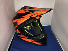 NOLAN N53 COMP ORANGE & BLACK MOTOR CROSS HELMET