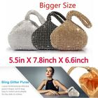 Women Ladies' Evening Clutch Bag Purse Handbag For Party Prom Full Rhinestones