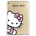 Cartoon Hello Kitty Soft Silicone Tpu Case Cover For Apple iPad Samsung F01KT372
