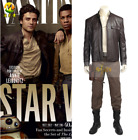 Star Wars 8 Poe Dameron Cosplay Costume Halloween costume men the Last Jedi suit $197.5 USD on eBay