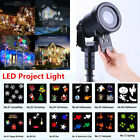 2017 LED Moving Laser Projector Light Landscape Garden Party Xmas Outdoor Garden
