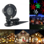 Outdoor Xmas LED Laser Projector Light Landscape Garden Christmas Lamp Snowflake
