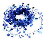 5PCS Star Pine Garland Christmas Tree Garland Christmas Decoration Home Ornament