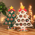 DIY Wooden Christmas Tree Table Decoration Gift for Children Home Xmas Ornaments