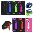 EagleCell ZTE Blade X Z965 Blade Force N9517 Hybrid Armor Case Stand ZZ0
