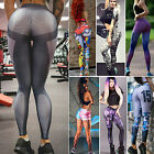 Women Slim Fit Yoga Fitness Leggings Gym Sports Pants Compression Tight Trousers